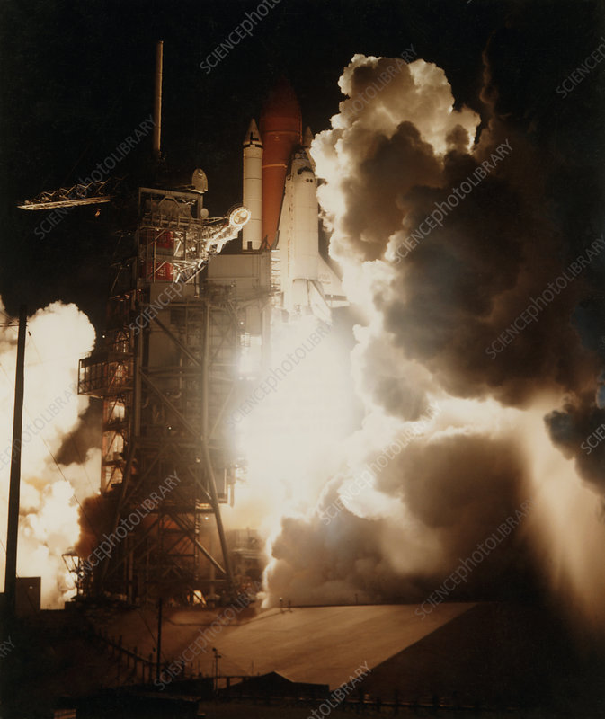 Launch of Space Shuttle Challenger