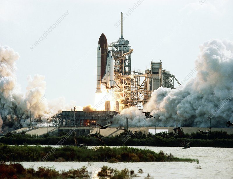Launch of Space Shuttle Discovery STS-20