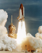 Launch of shuttle mission STS-70, July 13 1995
