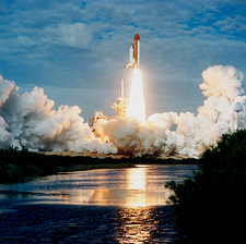 Launch of Shuttle Columbia, Mission STS-73
