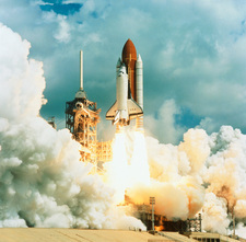 Shuttle Columbia launch, Mission STS-78, 20.6.96