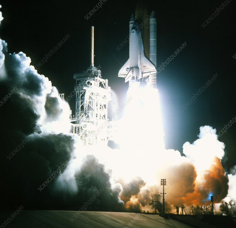 Launch of the space shuttle Endeavour on STS-88