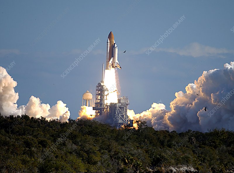STS-107 mission launch