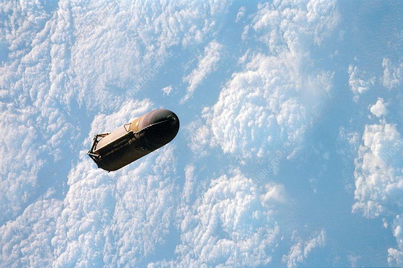 Space Shuttle fuel tank separation