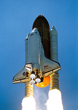 Shuttle mission STS-121 launch, July 2006
