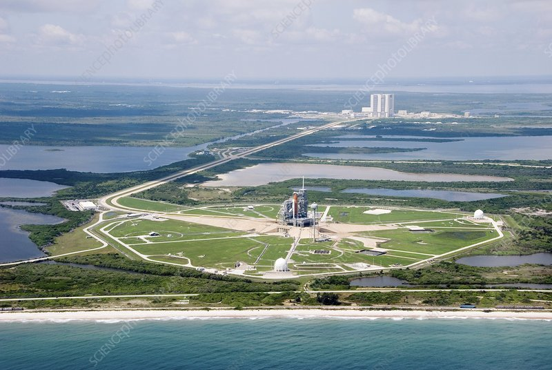 Space Shuttle launch pad, August 2007
