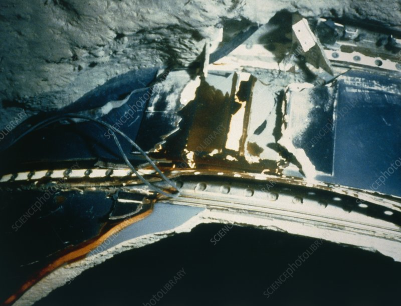 Debris from 51-L shuttle explosion on ocean floor