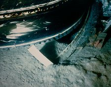 Debris in ocean of Shuttle 51-L disaster