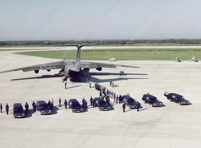 Funeral of crew of shuttle mission 51-L