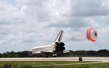 Space Shuttle Endeavour landing, STS-118