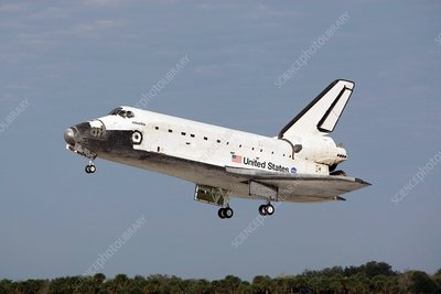 Space Shuttle Atlantis landing, 2008