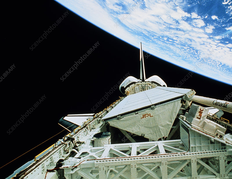 Space Radar Laboratory SRL-2 in orbit, STS-68