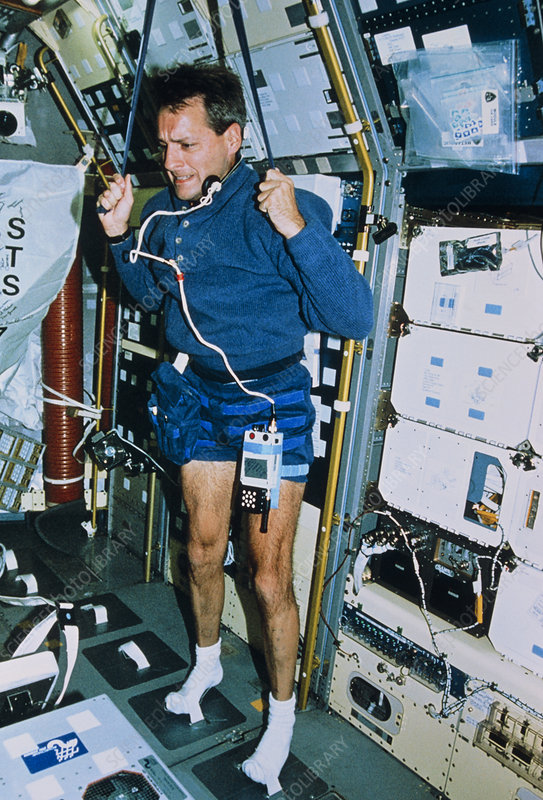 Astronauts Exercising - Pics about space