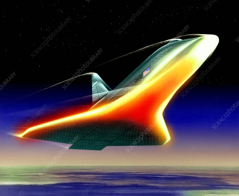 space shuttle re entry heat - photo #10