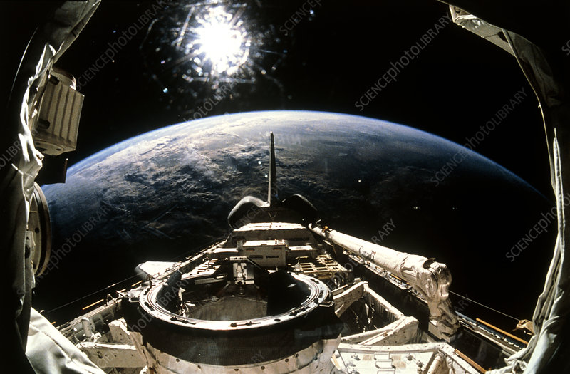 Earth from Shuttle