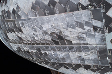 Discovery heat shield tiles