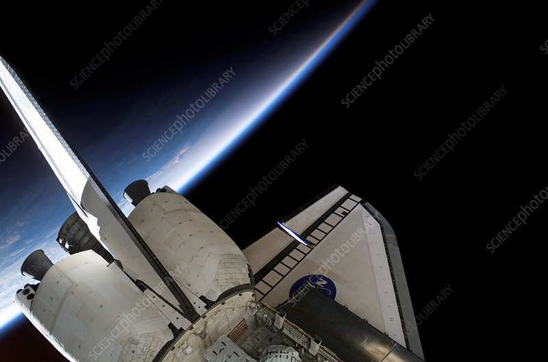 Space Shuttle Endeavour in orbit, STS-118