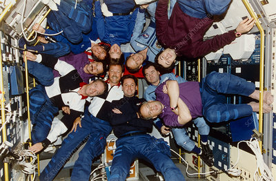 Crew portrait for Shuttle-Mir joint mission STS-71