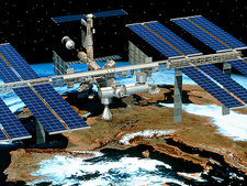 Artwork of the International Space Station