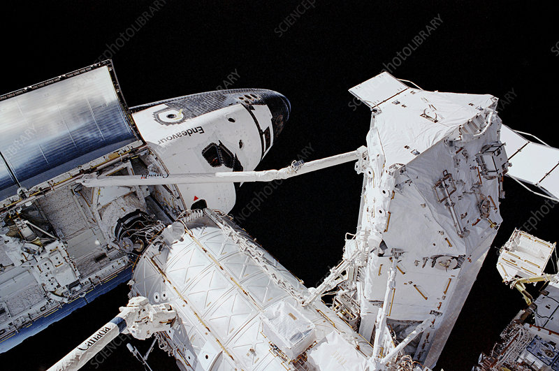 ISS and Space Shuttle