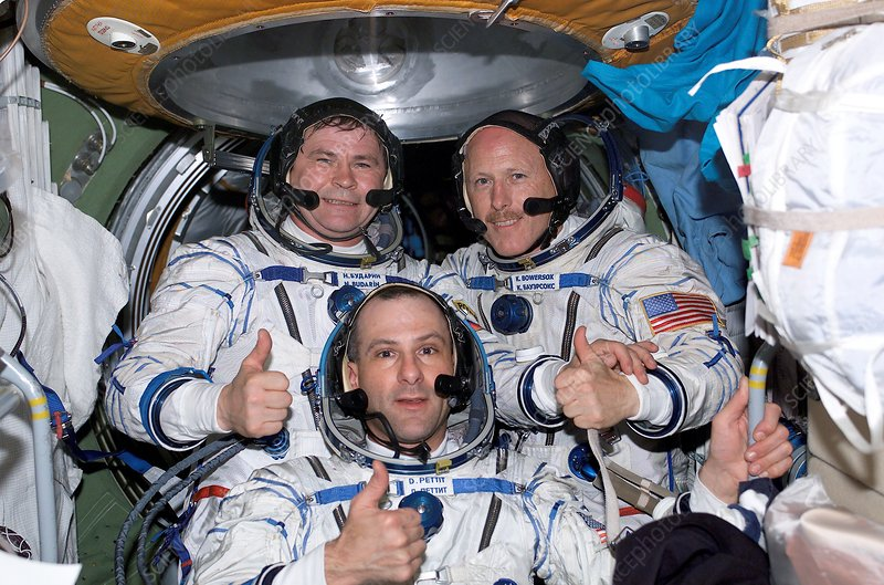ISS expedition 6 astronauts