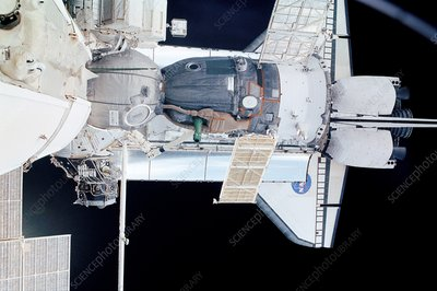 Vehicles docked to the ISS
