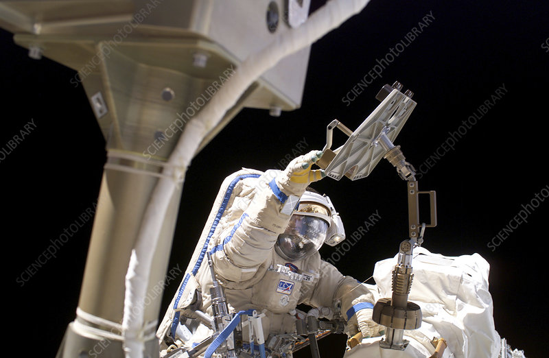 ISS space walk, June 2006