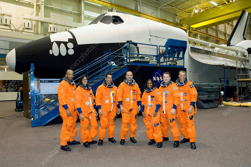 Crew of the STS-116 ISS shuttle mission