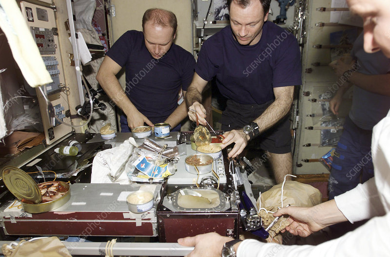 Food on the International Space Station