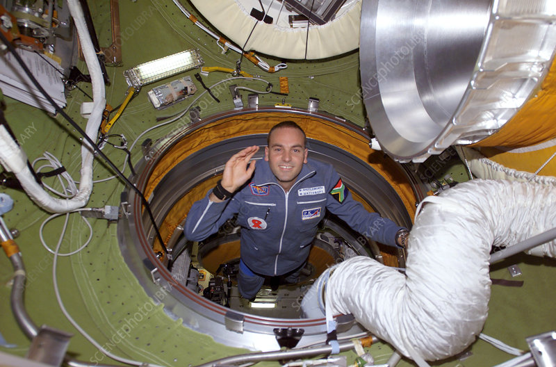 Mark Shuttleworth, space tourist