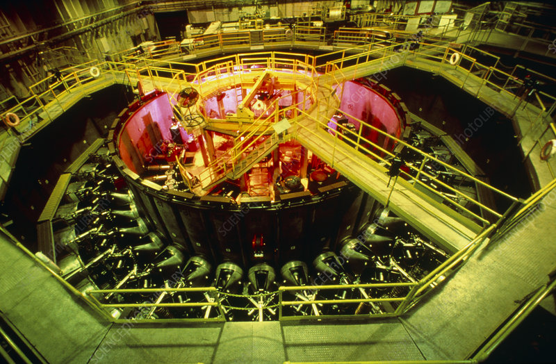 Star Wars research: PBFA-1 particle accelerator