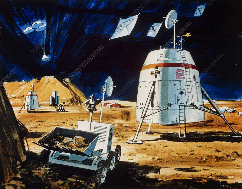 Proposed mission to Mars in 1990s