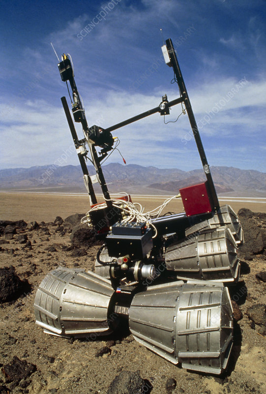 Testing of CIS Mars Rover in USA