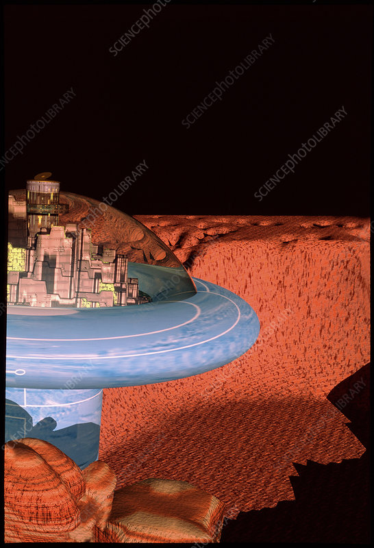 Space colony on Mars