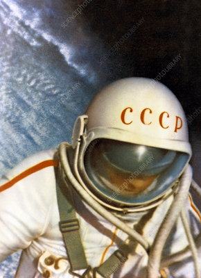 Alexei Leonov, first space walk, 1965
