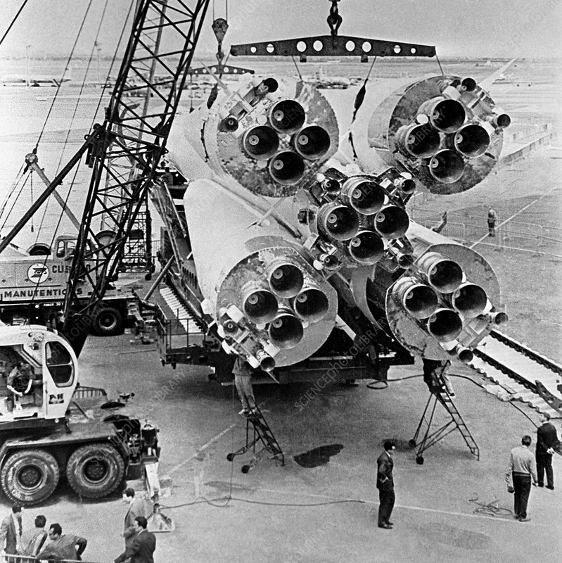 Vostok spacecraft launch vehicle
