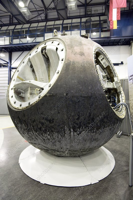 Russian re-entry capsule