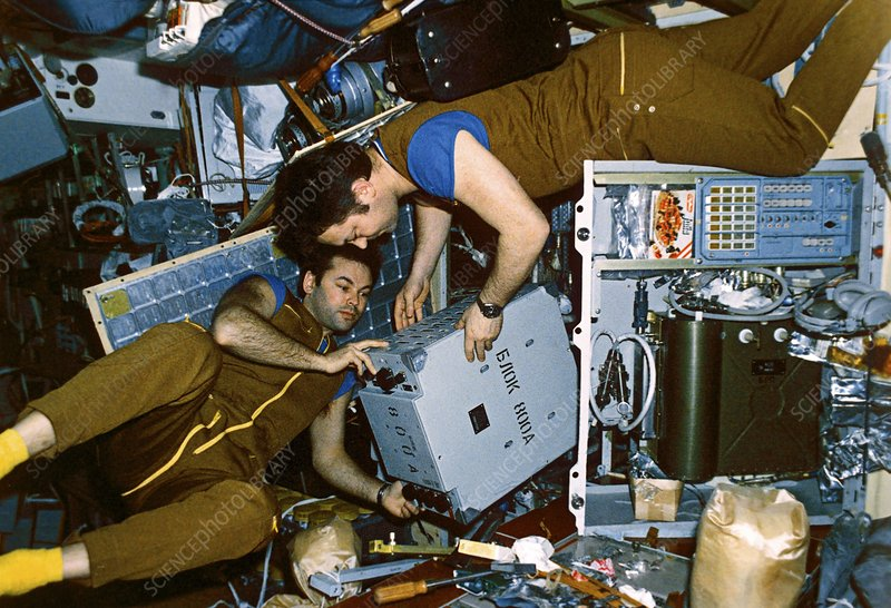 Mir space station cosmonauts, 1987