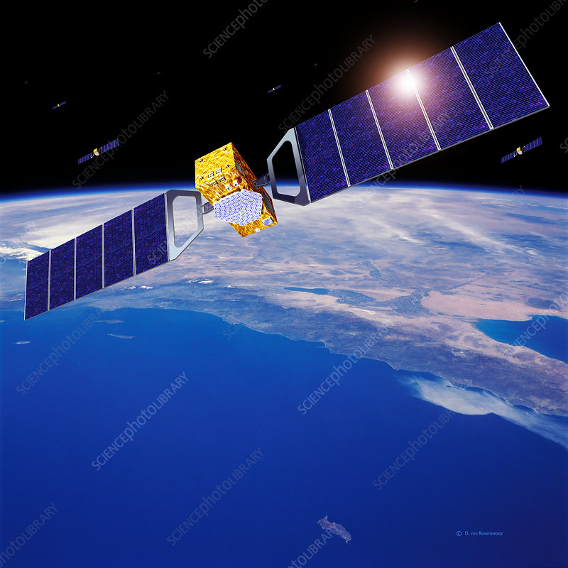 Galileo navigation satellites