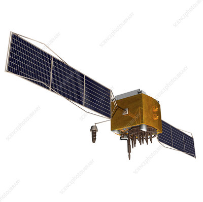 GPS satellite, artwork