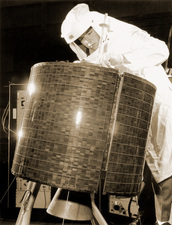 Early Bird communications satellite, 1965