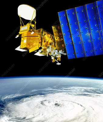 Aqua Earth observation satellite