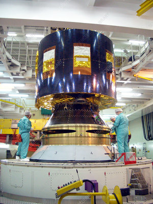 Meteosat second generation 2 satellite
