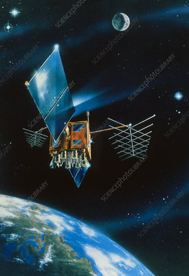 Artist's impression of Navstar GPS Block 2R