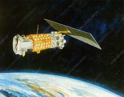 Artist's impression of DMSP 5D-2 met. satellite