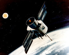 Artist's impression of Global Positioning Satellite