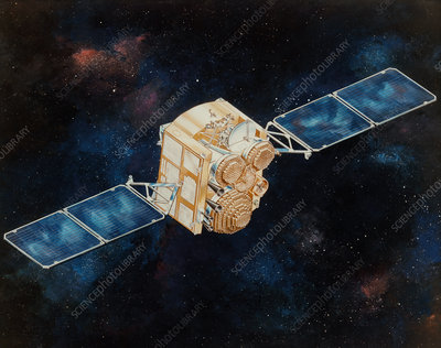 DSCS military communications satellite