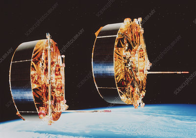 Cluster II satellites