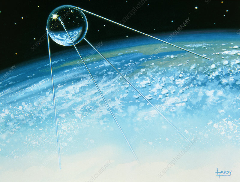 Sputnik 1 the first artificial satellite