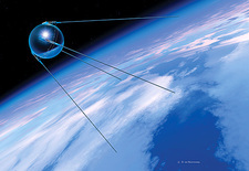 Sputnik 1 satellite